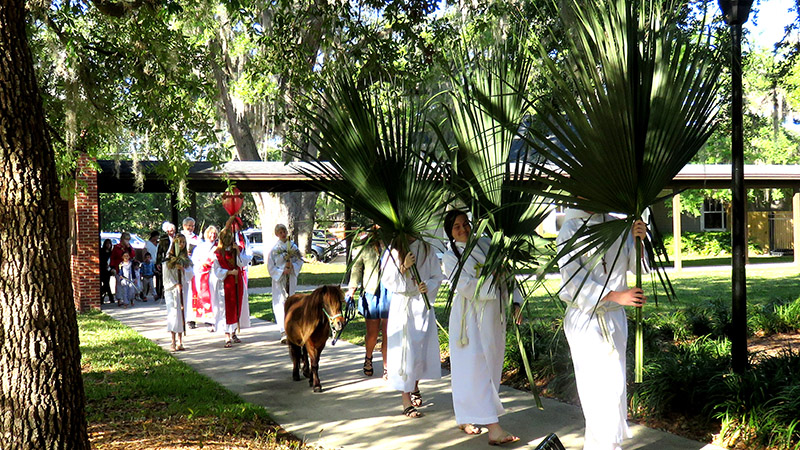 Palm Sunday - March 25